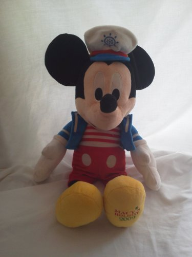 (Disney Sailor Mickey Mouse Plush Macy's Holiday 2009 17 Inch )