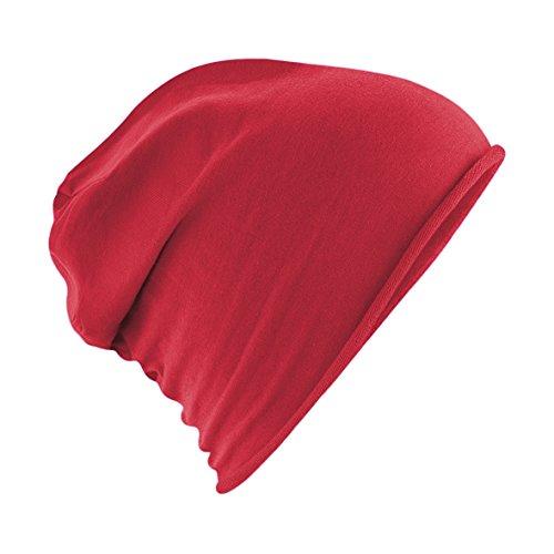 Hombre Heather Gorro Beanie Mujer verano gorro jersey y primavera Rojo q0O0UE