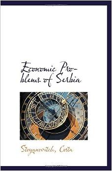 Book Economic Problems of Serbia