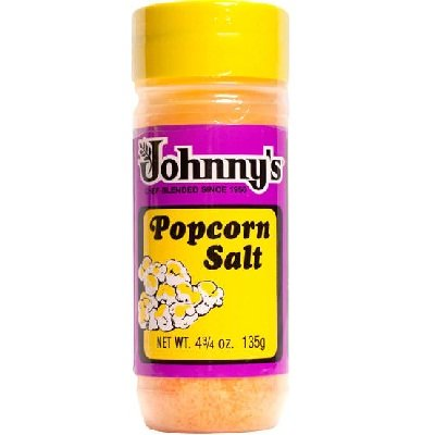 Johnny's Popcorn Salt 6x 4.75OZ by Johnny's
