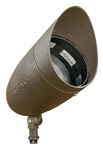 Dabmar Lighting DPR38-HOOD-BZ Par 38 Hooded Spot Light, Bronze Finish