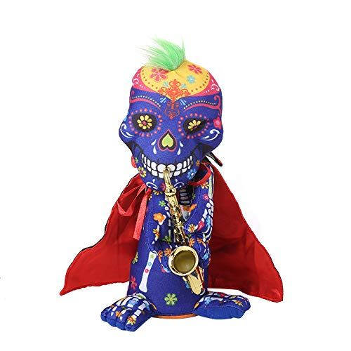 Kasien Plush Pumpkin Toy, Halloween Party Decoration Halloween Stuffed Plush Toys Ghost Nightmare Animated -