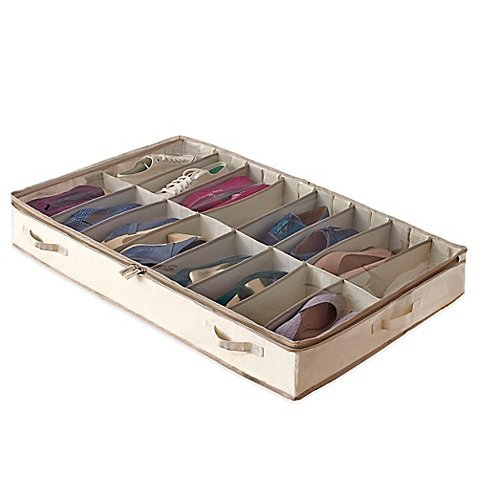 Simple Shoes Bags - Real SimpleGarment Storage Underbed Shoe Bag by Real Simple