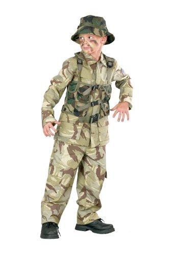 Big Boys Delta Force Army Costume Medium (8-10) -
