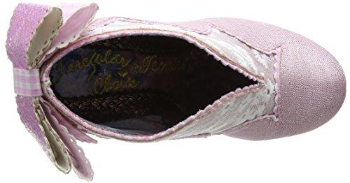 Epäsäännöllinen Teeleipä Toe Korkokengät Suljetun Paahdetut Valinta Vaaleanpunainen pinkki Naisten qqSOzA4