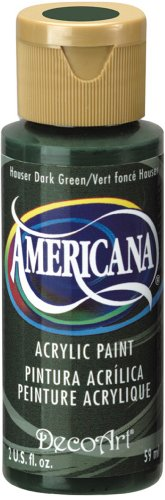 Americana Acrylic Paint 2 Ounces-Hauser Dark Green