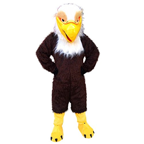 Brown Eagle Mascot Costume Character Real Picture Langteng Cartoon (TM) ()