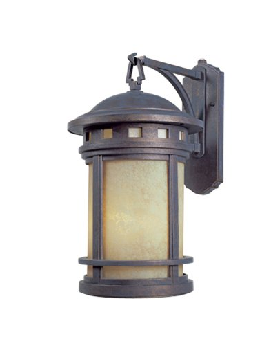 Designers Fountain 2391-AM-MP Sedona Wall Lanterns, Mediterranean Patina