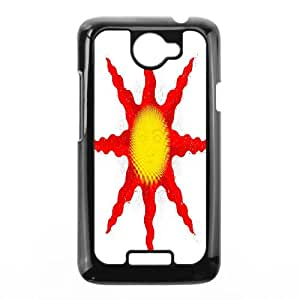 HTC One X Cell Phone Case Black Solaire of Astora BMJ Rubber Cell Phone Covers