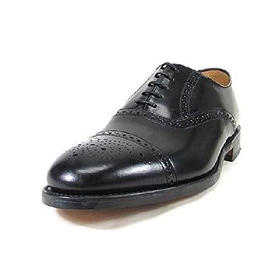 (ローク) LOAKE 靴 イングランド ストレートチップ OBAN ブラック UK9(27.5cm)
