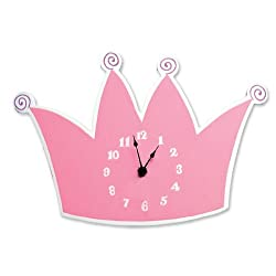 Trend Lab Tiara Wall Clock Color: Tiara Model: 100324