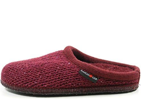 Wolle Pantoffeln Damen Rot Walktoffel Hausschuhe Uni Haflinger 611087 vp4SwqwY