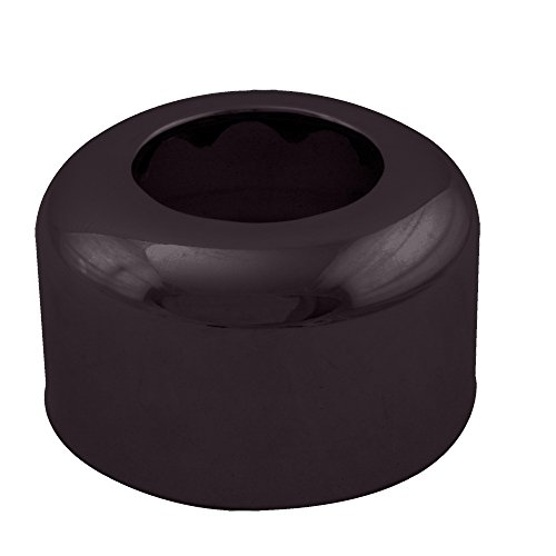 Westbrass R409-12 High Box Pattern Flange, Oil Rubbed Bronze