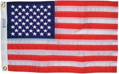 Annin NYL-Glo Nylon Outdoor U.S Flag (2 x 3-Feet Sewn)
