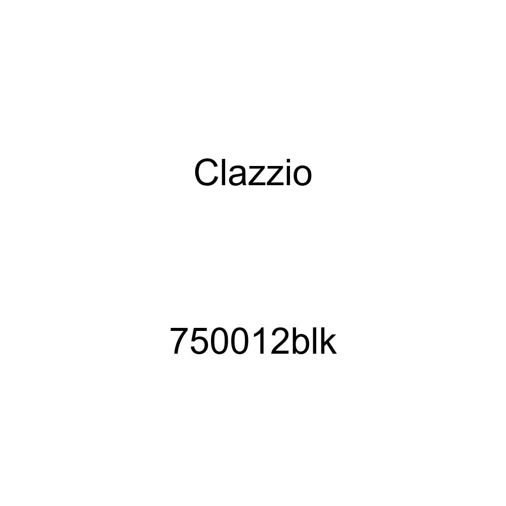 Clazzio 750012blk Black Leather Front and Rear Row Seat Cover for Chevrolet Silverado 1500//2500//3500 Crew Cab