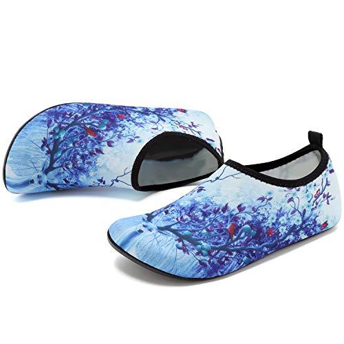 Beach Shoes Quick Exercise Shoes Elk Unisex Drying for Pool Aqua Water VIFUUR Men Women Yoga fvw05q44