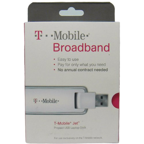 T-Mobile webConnect Jet Prepaid 3G USB Laptop Broadband Stick (HUAWEI UMG1691) by T-Mobile