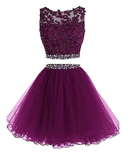 2 Piece Lace Dress - 6