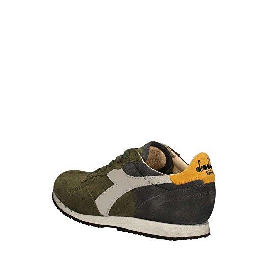 Sneakers Uomo DIADORA verde blu giallo trident s sw, nuova collezione autunno inverno 2017/2018
