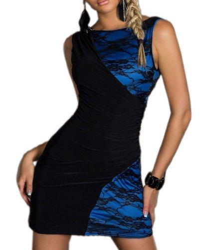 Pinkyee PKY1509150724 - Vestido para mujer 137133-Blue