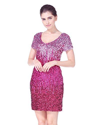 Vintage Pink Sequin - 4