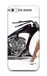 Iphone High Quality Tpu Case Motorcycle Calendar Girl Case Cover For Iphone 5c