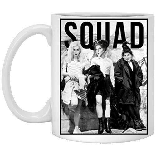 11 Ounces Coffee Mug - Squad Sanderson Sister Horror Three Witches Mug Gift Halloween 2018 - Horror Movie Mug - Halloween Mug -