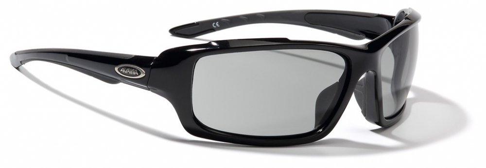 Sonnenbrille Alpina Callum VL Rahmen sw Glas Varioflex schwarz S2-3
