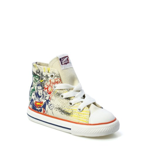 Converse CT Hi Justice League Angora Toddlers Trainers-UK 2