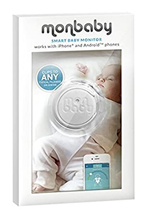 Baby Monitor for Breathing and Movement (White)