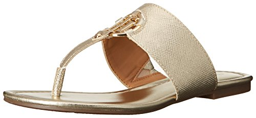 Tommy Hilfiger Womens Sia, Gold, 6.5 M US