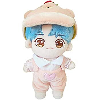 Amazon.com: VogueMing Kpop EXO - Muñeca de peluche de 7.9 in ...