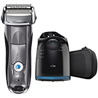 Braun 7865CC Series 7 Wet & Dry Premium Electric Shaver with Clean & Charge System, Grey