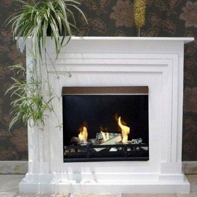 Gelkamin Ethanolkamin Arobia / Für Brenngel oder Bio-Ethanol / BBT-10001170 / Echtes Kamin-Feuer ohne Rauch, Asche oder Staub
