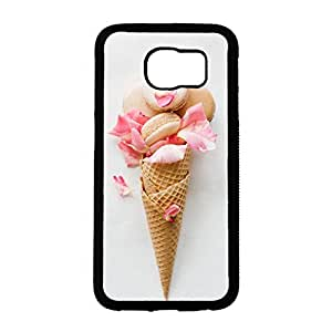 Samsung Galaxy S6 Case,Macaron Phone Case,Creative Macaron Pattern Design Durable Slim Cover Case for Samsung Galaxy S6