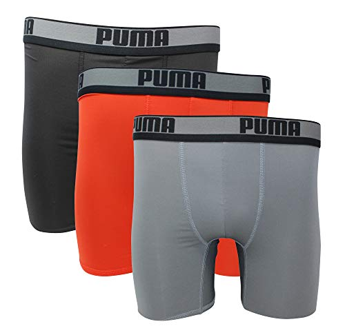 (PUMA 3-PACK SPORT STRETCH BOXER BRIEF)