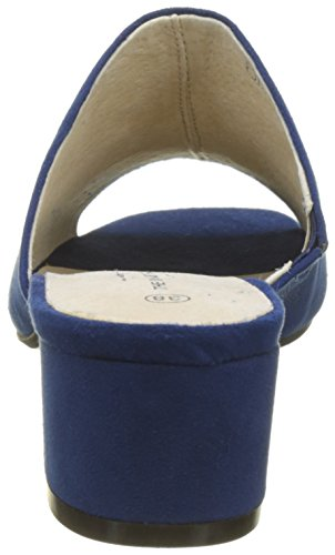 Factory The Women's Divine Bleu Blue Mules Awica S 009 wrw5q