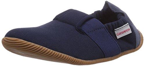 Giesswein Söll - Slim Fit - pantuflas de lana niño Azul (Dk.blau)