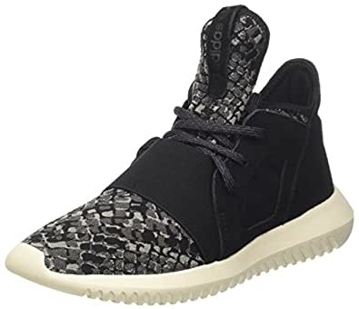 adidas Originals Tubular Defiant Womens Trainers/Shoes - Black-5