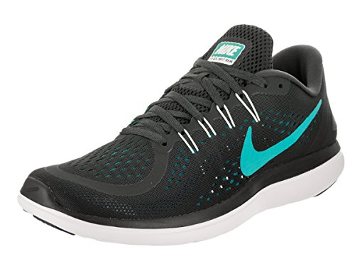 Nike Wmns Solarsoft Thong 2 Stampa, Donne Infradito da Donna Anthracite/Clear Jade/Black