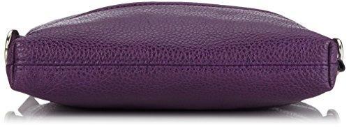 Jost Vika Shoulder Bag Xs - Bolso mujer púrpura - morado (Berry)