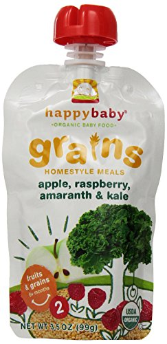 Organic Baby Meals, Happy Baby Homestyle (Pack of 16)