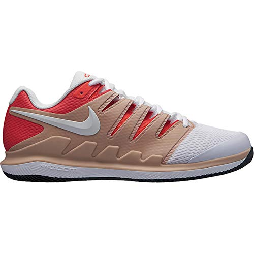Nike Men's Air Zoom Vapor X Cushioning Tennis Shoes ( Beige ,12 ) Air Zoom Tour Shoes