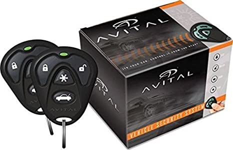 amazon com avital 4103lx remote start system with two 4 button rh amazon com