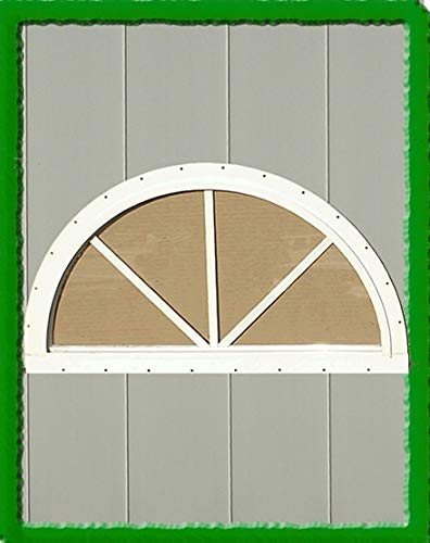 HALF MOON SUNBURST WINDOW (18