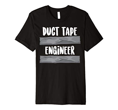Duct Tape Engineer Cute Handyman Tool Funny Engineering Gift Premium T-Shirt