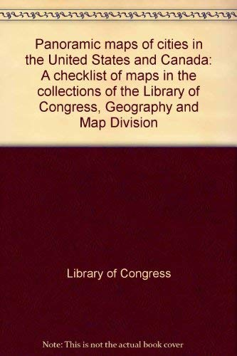 - Panoramic maps of cities in the United States and Canada: A checklist of maps in the collections of the Library of Congress, Geography and Map Division