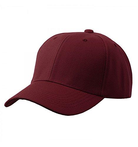 Velcro Adjustable Baseball Cap - Baseball Plain Cap