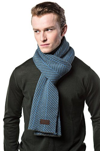 Gallery Seven Winter Scarf for Men, Soft Knit Scarve, in an Elegant Gift Box - ()