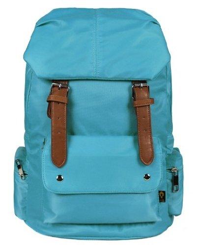 ZeleToile DN-05 Mochila para portátiles 10-15,6 pulgadas / Mochila de viaje / Mochila en escuela para chicas / Mochila escolar de estilo retro (azul)